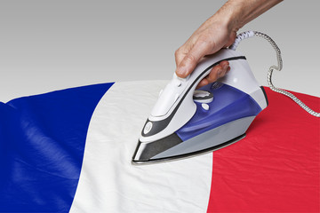 smooth out the wrinkles of Flag-FR