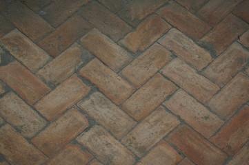 immagine di pavimentazione in cotto