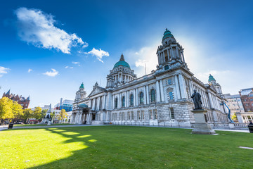 city hall of Belfast North Ireland