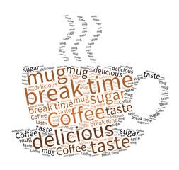 Break time - tag cloud
