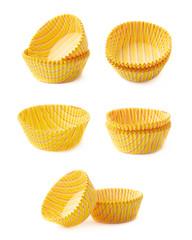 Striped cupcake paper cups