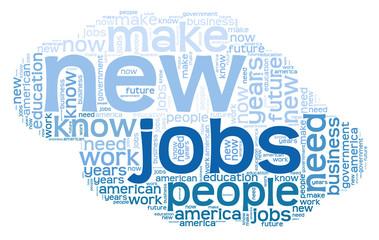 Jobs - word cloud