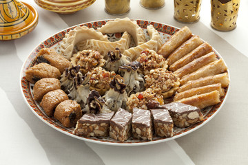 Fresh baked Moroccan cookies