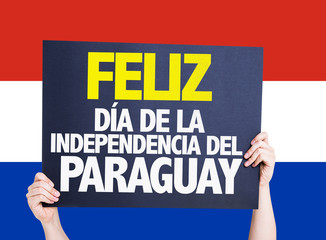 Happy Paraguay Independence Day (in Spanish)