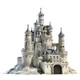 Fototapety castle 3d illustration