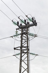 Electrical overhead line