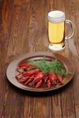 Crayfish beer snack