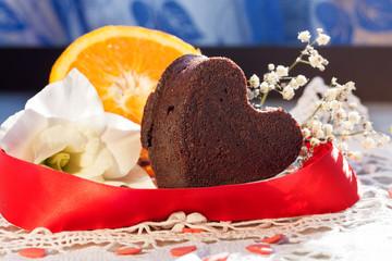 Muffins cioccolato e arancia