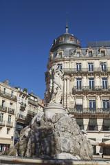 fontaine des Trois Grâces montpellier