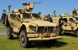 Mine Protected Ambush Resistant (MRAP) Vehicle poster