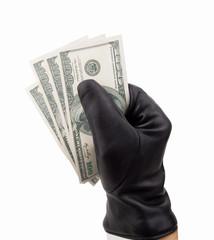 stealing dollars