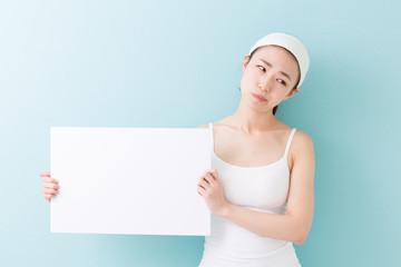 美容 ホワイトボード