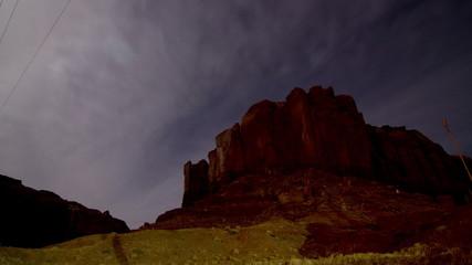 Utah's Monument Valley Astro Mountain Time-lapse