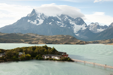 Pehoe Lake - Torres Del Paine National Park
