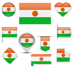 Niger Flag Collection