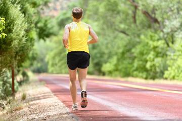 Running man runner jogging for fitness jogging
