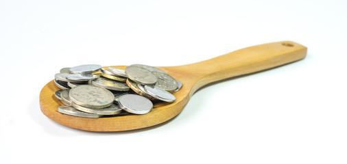 Ladle coins