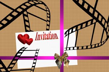 Cinéma - Festival - Invitation