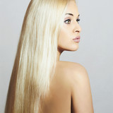 Beautiful Woman with long hair. Beauty Sexy Blond Girl