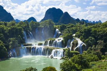 南寧の徳天滝