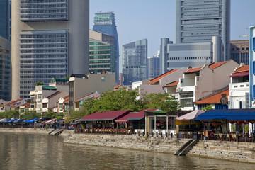 シンガポールのボートキーレストラン街