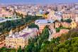 Malaga, Spain cityscape.