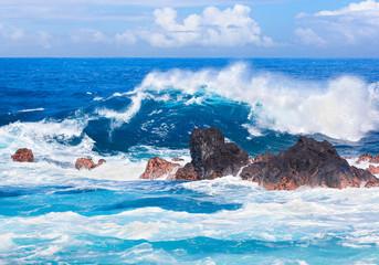 côte rocheuse sud, île de la Réunion