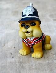 figurine de bouledogue anglais