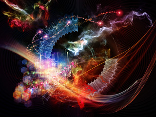 Lights of Abstract Visualization
