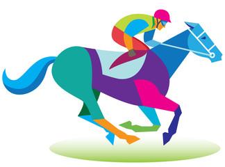 horse. jockey