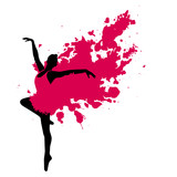 Ballet dancer in motion - 83049776