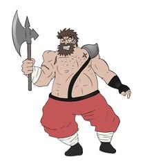 strong warrior