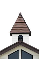 茶色の三角屋根