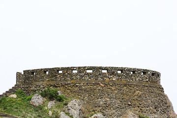 要塞のような見晴台