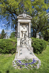Last Resting Place of architect Carl Hasenauer at the Vienna Cen