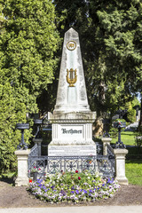 Last Resting Place of composer Ludwig van Beethoven at the Vienn