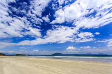 Doc Let beach At Morning, Nha Trang central Vietnam