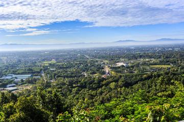 High view to Royal Flora Ratchaphruek in Chiang Mai, Thailand