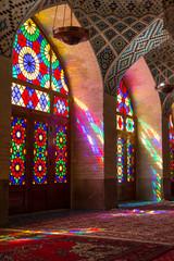 Nasir al-Mulk Mosque in Shiraz, Iran
