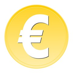 Euro Sign Button