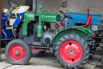 Tractor from the past