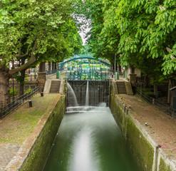 écluse Canal Saint-Martin