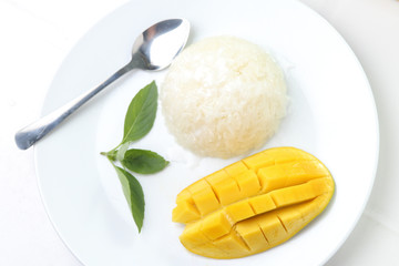 Mango with Sticky Rice.