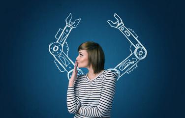 Robotic arms concept