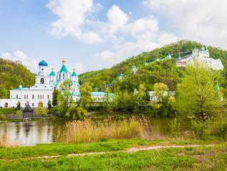 Svyatogorsk monastery landscape