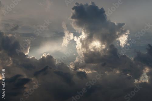 Dramatischer Himmel - 83075153