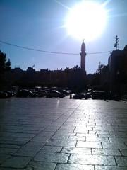Platz vor der Geburtskirche Bethlehem