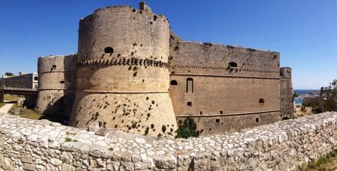 castle of Otranto. panoramic view