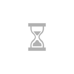 Simple hourglass icon.