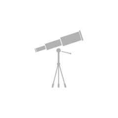 Simple icon of the telescope.